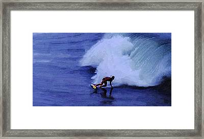 My Wave Framed Print by Ron Regalado