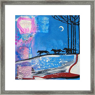 My Wildish Nature Framed Print by Cat Athena Louise