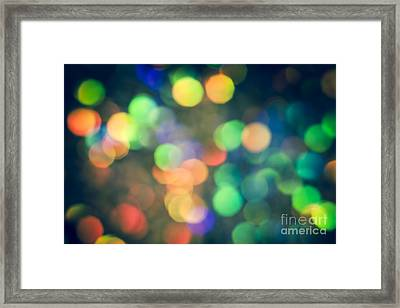 Myriad Framed Print by Jan Bickerton
