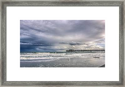 Myrtle Beach Fishing Pier Framed Print by Rob Sellers