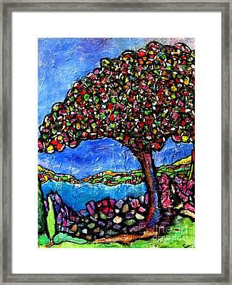 Myrtle Edwards Park Framed Print by Chaline Ouellet