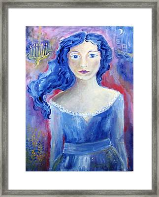 Mysterious And Dark  Framed Print by Trudi Doyle