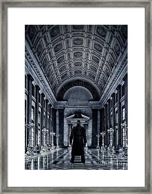 Mysterious Man Framed Print by Edward Fielding