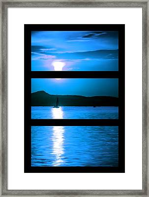 Mysterious Moonlight Framed Print by Bruce Nutting
