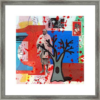 Mystery Journey Framed Print by Richard Allen