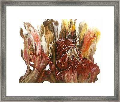 Mystery Framed Print by Karina Llergo