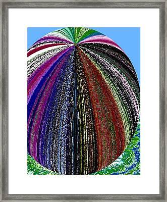 Mystery Melon Mutation Framed Print by Will Borden