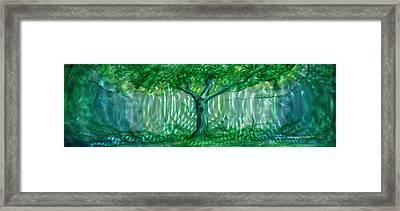 Mystery Tree Framed Print by Luis  Navarro