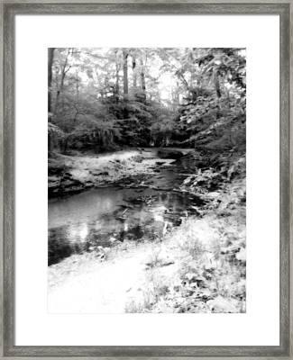 Mystic Creek  Framed Print by Dawdy Imagery