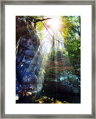 Mystic River Framed Print by Jeff Klingler