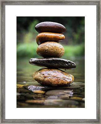 Mystic River S2 Xii Framed Print by Marco Oliveira