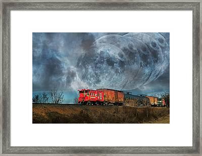 Mystic Tracking Framed Print by Betsy Knapp