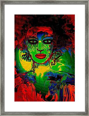 Mystic Woman Framed Print by Natalie Holland