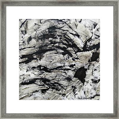 Mystical - Abstract Art Framed Print by Ismeta Gruenwald