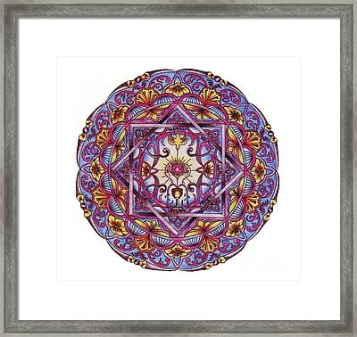 Mystical Chalice Framed Print by Sharon Andrews