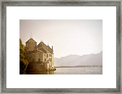 Mystical Chateau Chillon Framed Print by Ivy Ho