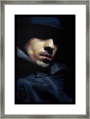 Mystical Man Framed Print by Gun Legler