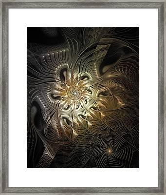 Mystical Metamorphosis Framed Print by Amanda Moore
