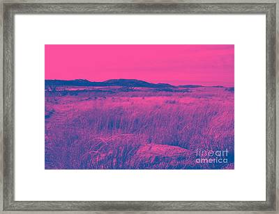 Mystical Red Framed Print by Mickey Harkins