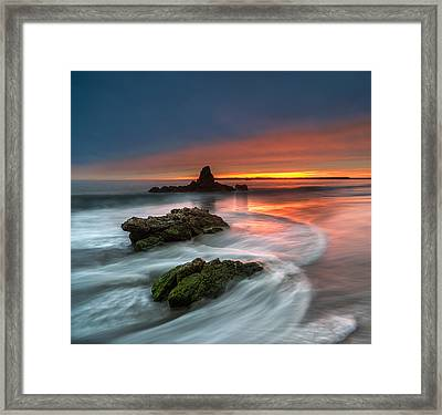 Mystical Sunset 2 Framed Print by Larry Marshall