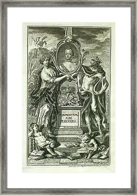 Mythical Figures Framed Print by British Library