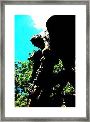 Mythological Staue  Framed Print by Valentino Visentini