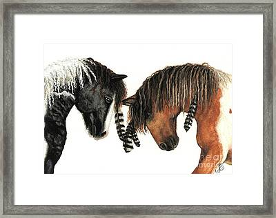 Mustang Series 37 Framed Print by AmyLyn Bihrle