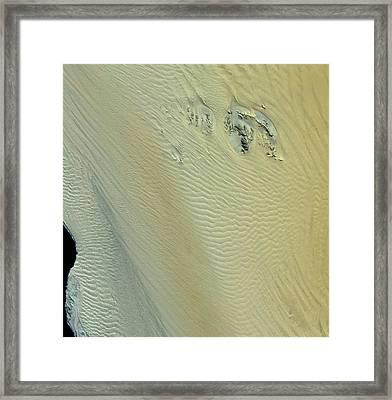 Namib Desert Framed Print by Nasa/gsfc/meti/japan Space Systems And U.s./japan Aster Science Team