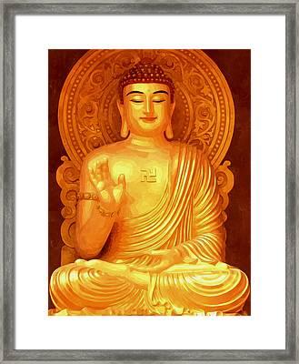 Namo Amitabha Buddha 36 Framed Print by Lanjee Chee