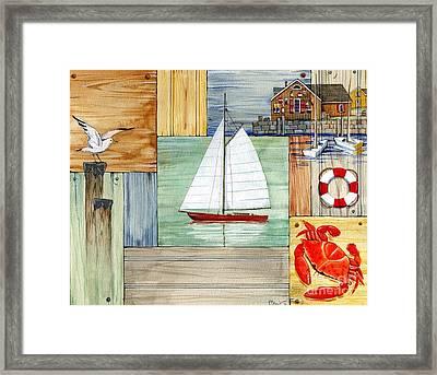 Nantucket II Framed Print by Paul Brent