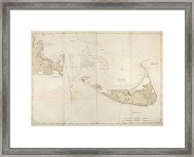 Nantucket Island Framed Print by British Library