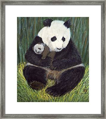 Nap Time Framed Print by Komi Chen