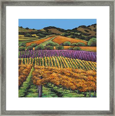 Napa Framed Print by Johnathan Harris