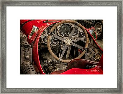 Napier Bentley Cockpit  Framed Print by Adrian Evans