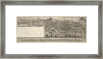 Naples Framed Print by British Library