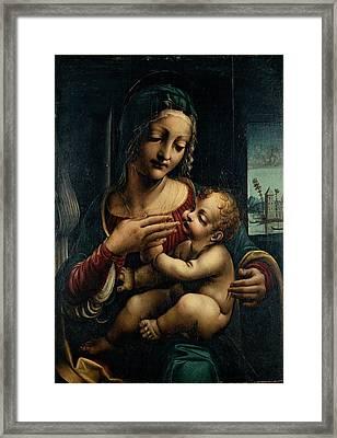 Napoletano Francesco, Madonna Framed Print by Everett