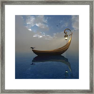 Narcissism Framed Print by Cynthia Decker