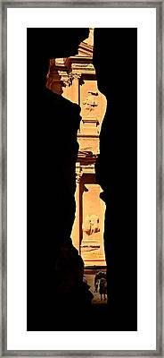 Narrow Is The Way Framed Print by Stephen Stookey