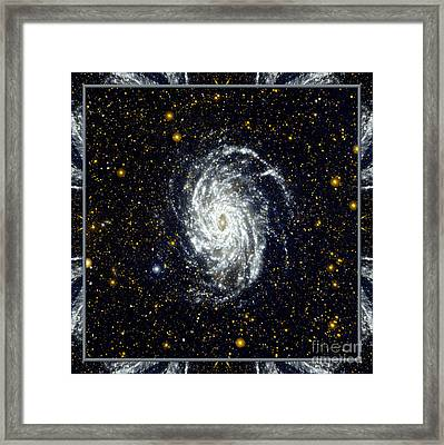 Nasa Big Brother To The Milky Way Framed Print by Rose Santuci-Sofranko