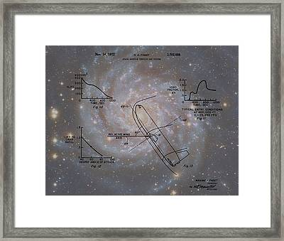 Nasa Space Shuttle Patent Framed Print by Dan Sproul