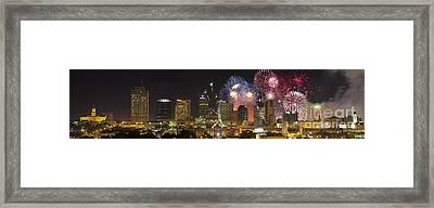 Nashville Fourth Of July 2014 Framed Print by Dieter Spears