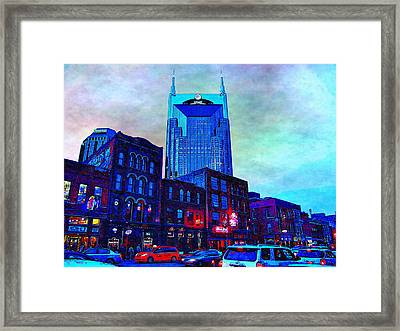 Nashville Guardian Framed Print by Glenn McCarthy Art and Photography