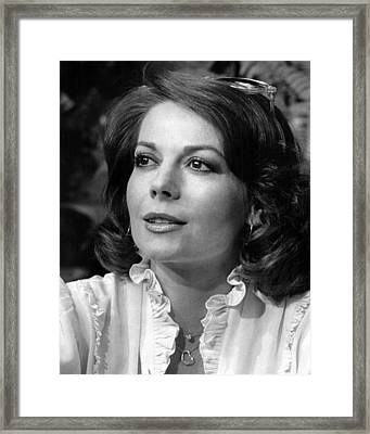 Natalie Wood Close Up Framed Print by Retro Images Archive