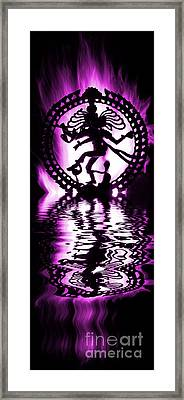 Nataraja The Lord Of Dance Framed Print by Tim Gainey