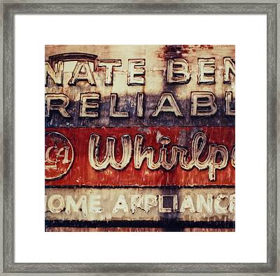 Nate Ben's Reliable Framed Print by Elena Bouvier