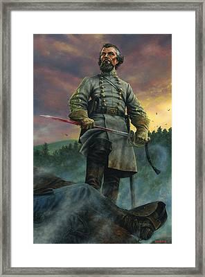 Nathan Bedford Forrest Framed Print by Dan Nance