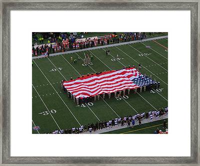 National Anthem Framed Print by Dan Sproul