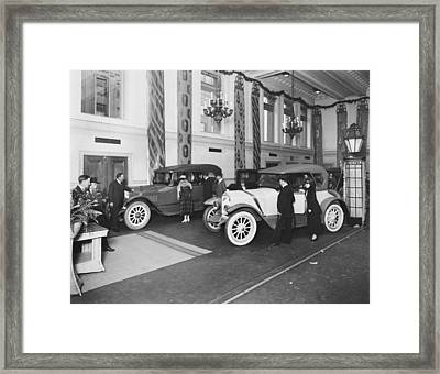 National Motor Vehicle Company Framed Print by Underwood Archives