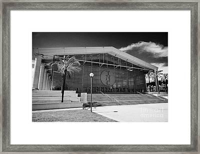 National Theatre Of Catalonia Barcelona Catalonia Spain Framed Print by Joe Fox