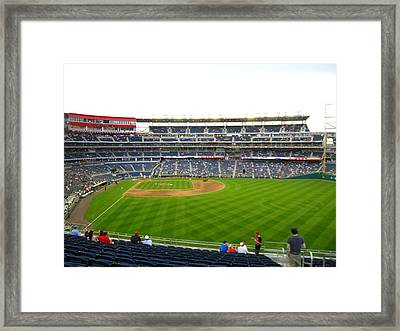 Nationals Park - 01132 Framed Print by DC Photographer